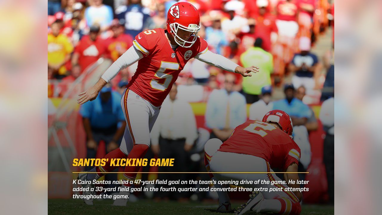 Chiefs QB Alex Smith Thrived in Crunch Time on Sunday