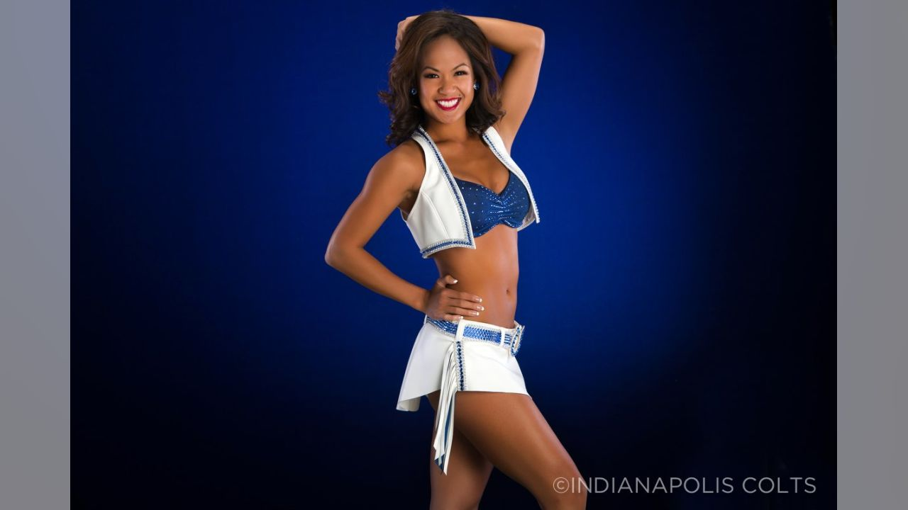 Indianapolis Colts Cheerleaders New Uniforms