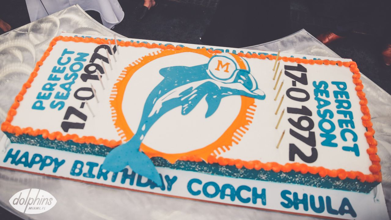 Fabulous Photo Gallery Remembering Don Shula Personalised Birthday Cards Paralily Jamesorg