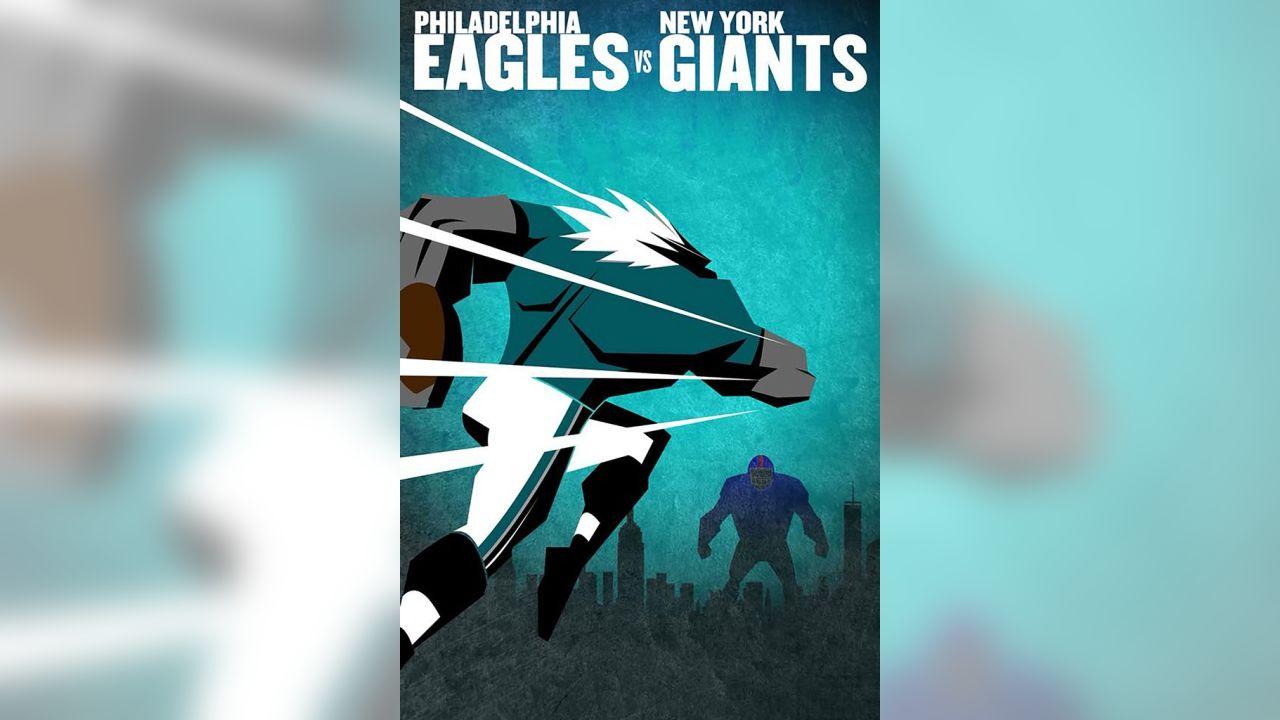 Eagles 2017 Season Gameday Posters