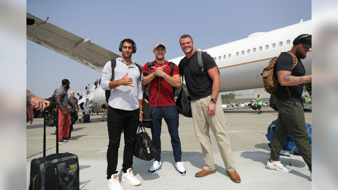 QB Jimmy Garoppolo, TE George Kittle and T Mike McGlinchey