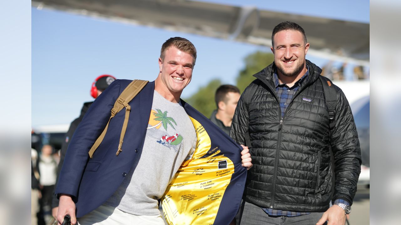 T Mike McGlinchey and T Joe Staley