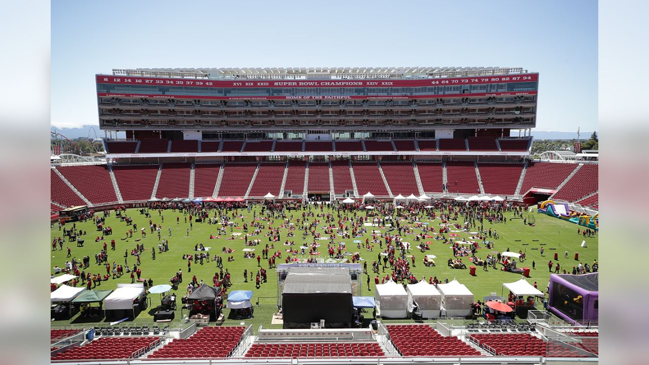 49ers Foundation Picnic on the Field