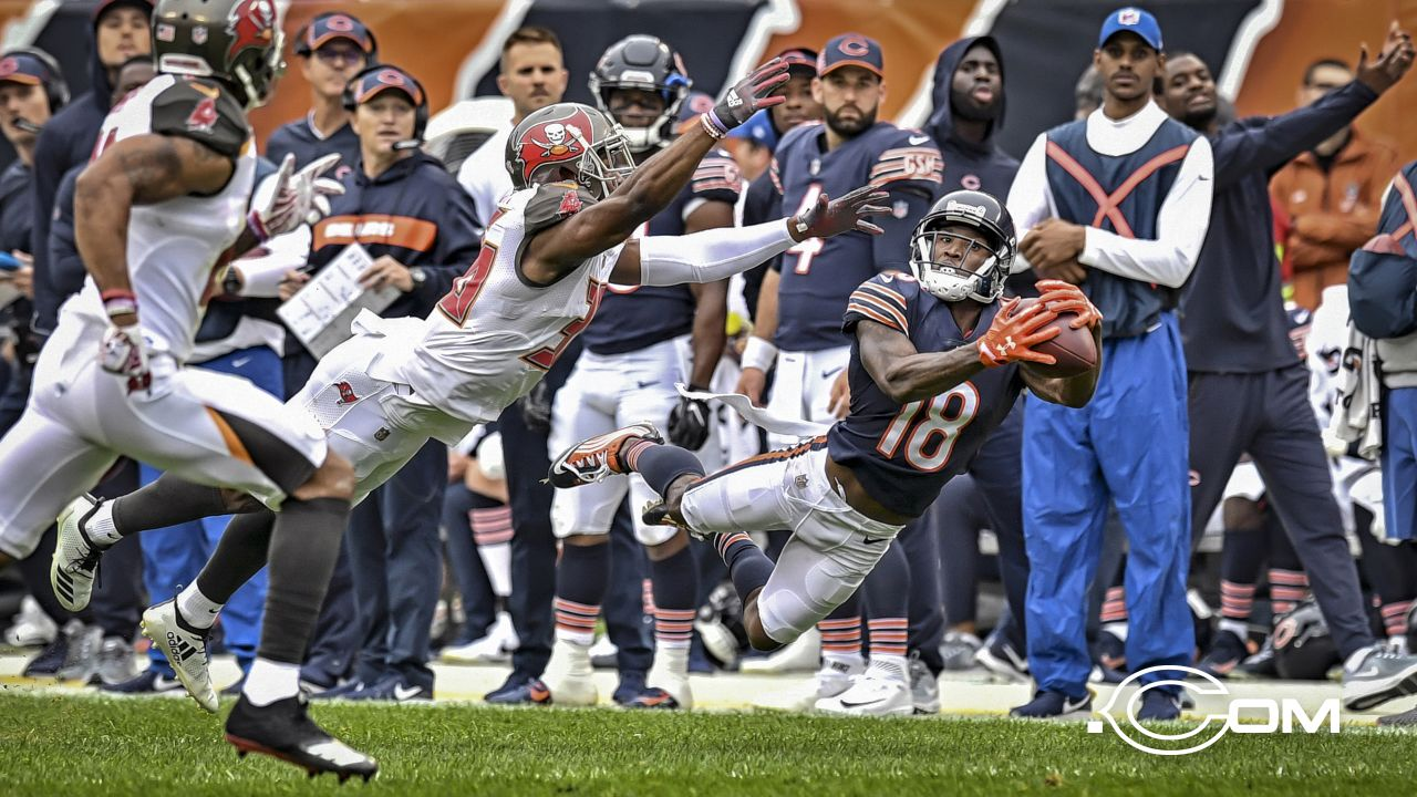 Chicago Bears take on the Tampa Bay Buccaneers, Sunday, September 30, 2018, in Chicago, Illinois.