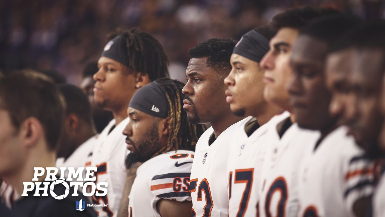 Chicago Bears take on the Minnesota Vikings, Sunday, December 30, 2018, in Minneapolis, Minnesota.