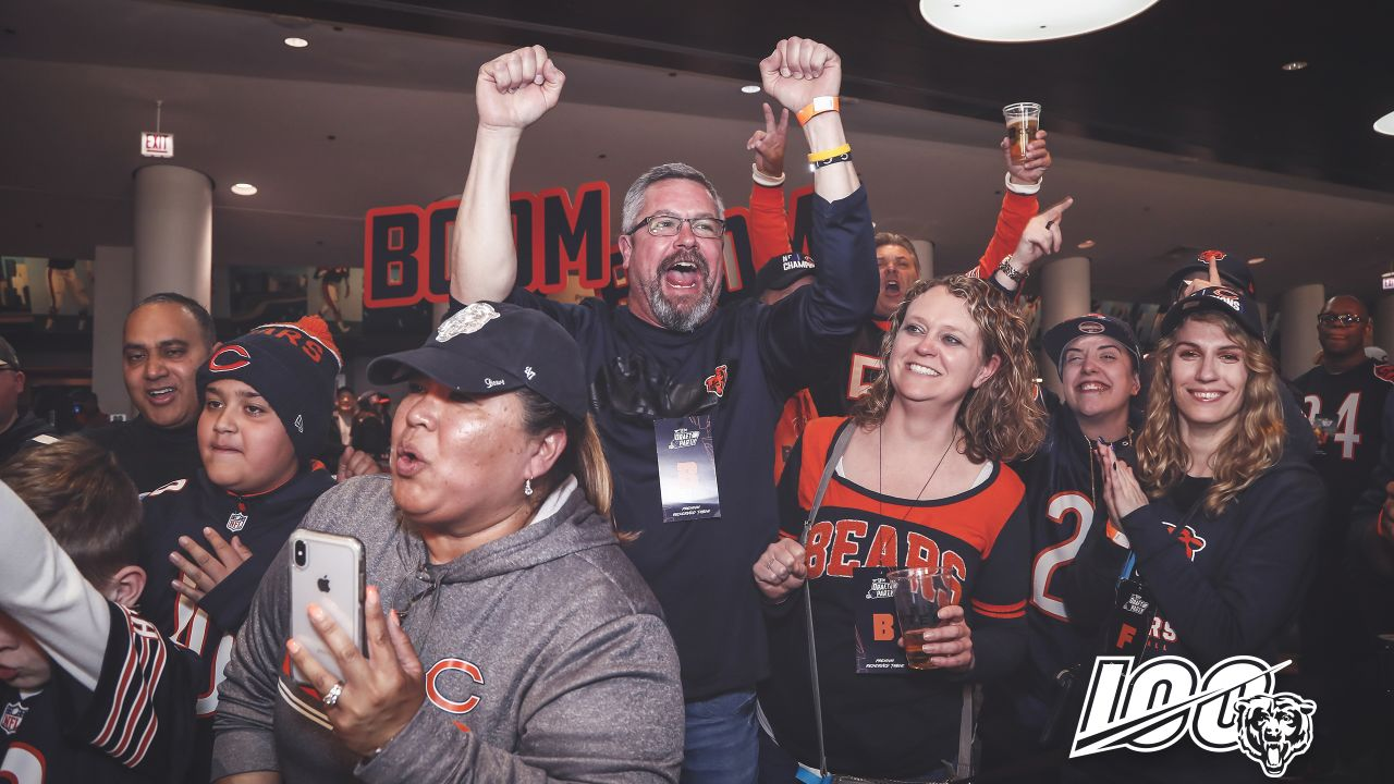 The Chicago Bears host a Draft Party at Soldier Field, Saturday, April 27, 2019, in Chicago, Illinois.