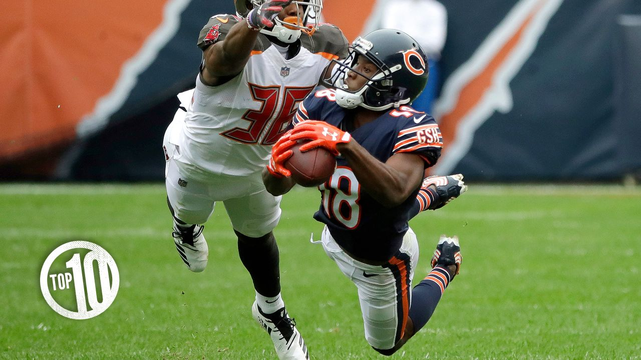 10. Bears sign receiver Taylor Gabriel:  Gabriel has excelled in his first season with the Bears, compiling 63 receptions for 627 yards two touchdowns.