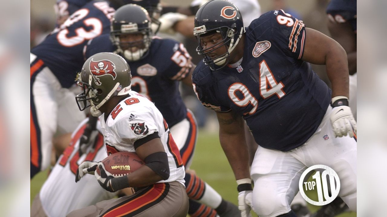 The enormous 6-2, 340-pound defensive tackle teamed with Ted Washington to form one of the NFL's fiercest run-stuffing duos in 2001-02.