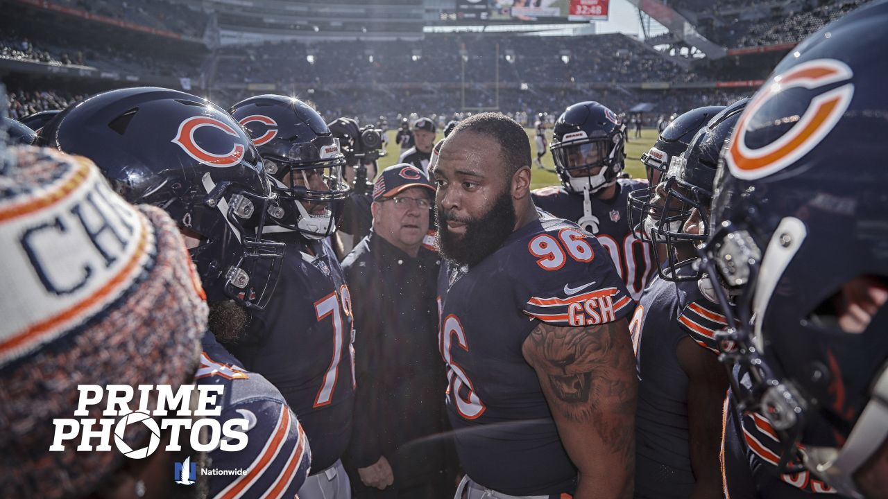 Chicago Bears take on the Green Bay Packers, Sunday, December 16, 2018, in Chicago, Illinois.