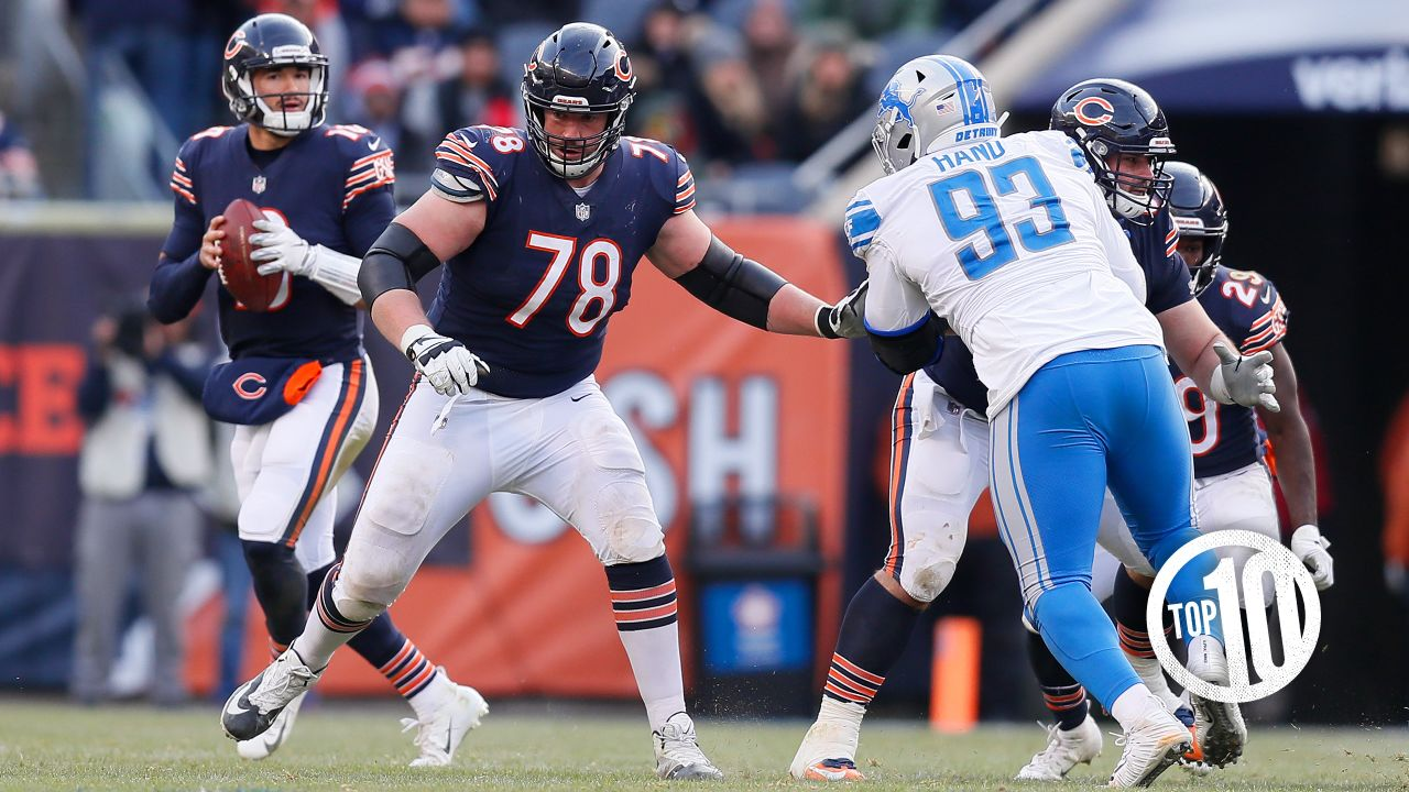 (10) Bryan Witzmann:  The Bears guard appeared in two playoff games with one start the previous two seasons with the Chiefs, playing on an offense coordinated by Bears coach Matt Nagy.