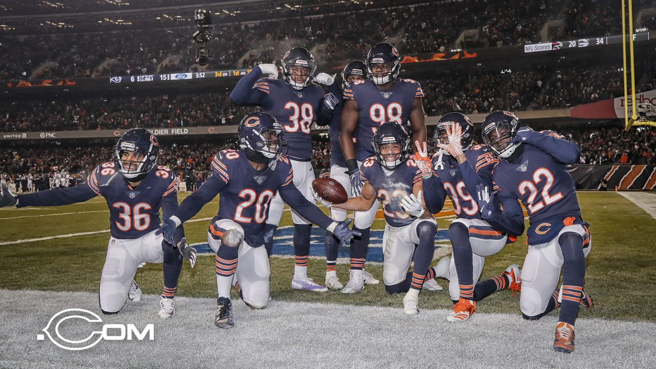 Chicago Bears take on the Los Angeles Rams, Sunday, December 9, 2018, in Chicago, Illinois.