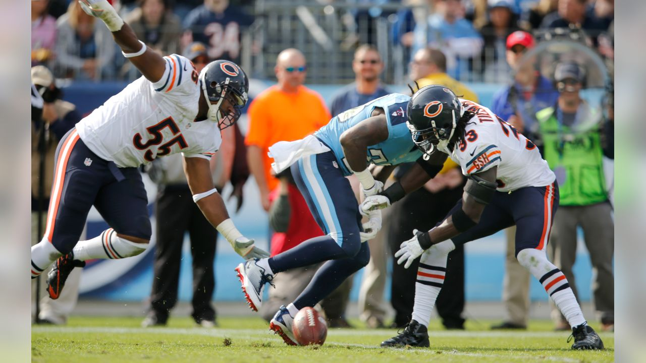 """(10) Charles Tillman: four forced fumbles in a game  Tillman shifted the """"Peanut Punch"""" into overdrive in a 2012 game in Tennessee, forcing four fumbles, the most by any player since the NFL began tracking the stat in 1991."""