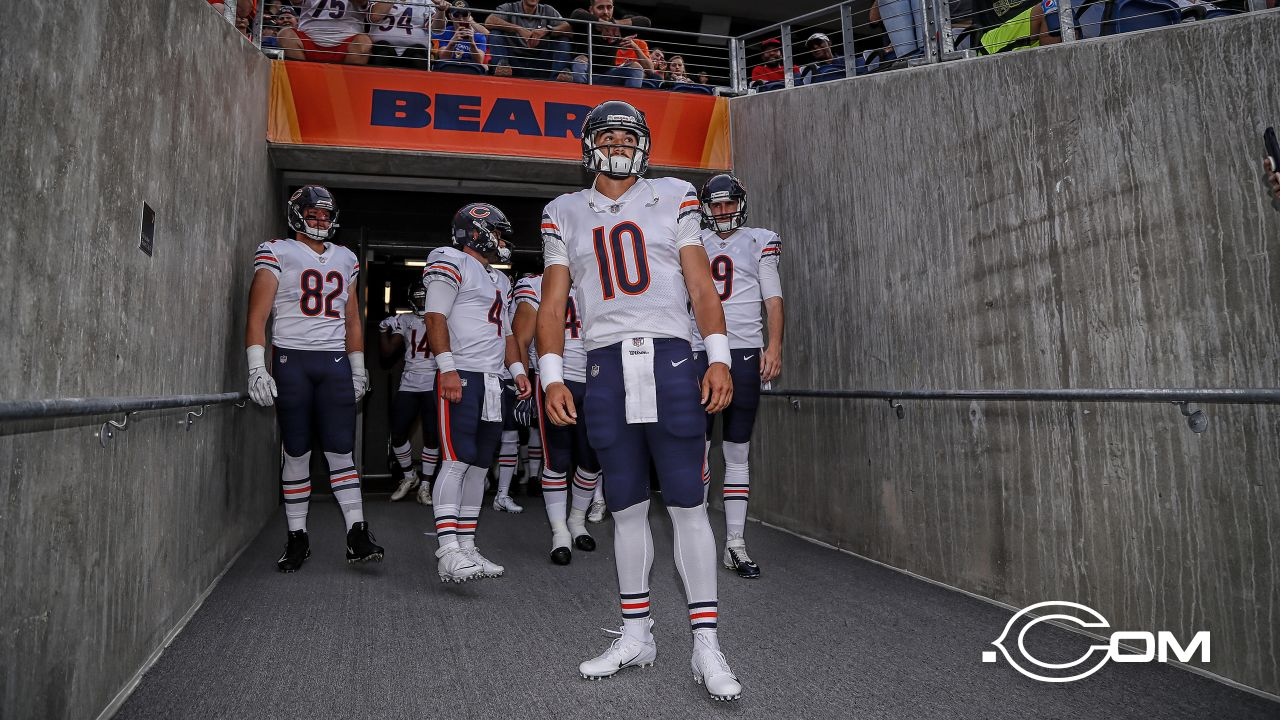 Chicago Bears take on the Baltimore Ravens, Thursday, August 2, 2018, in Canton, Ohio.