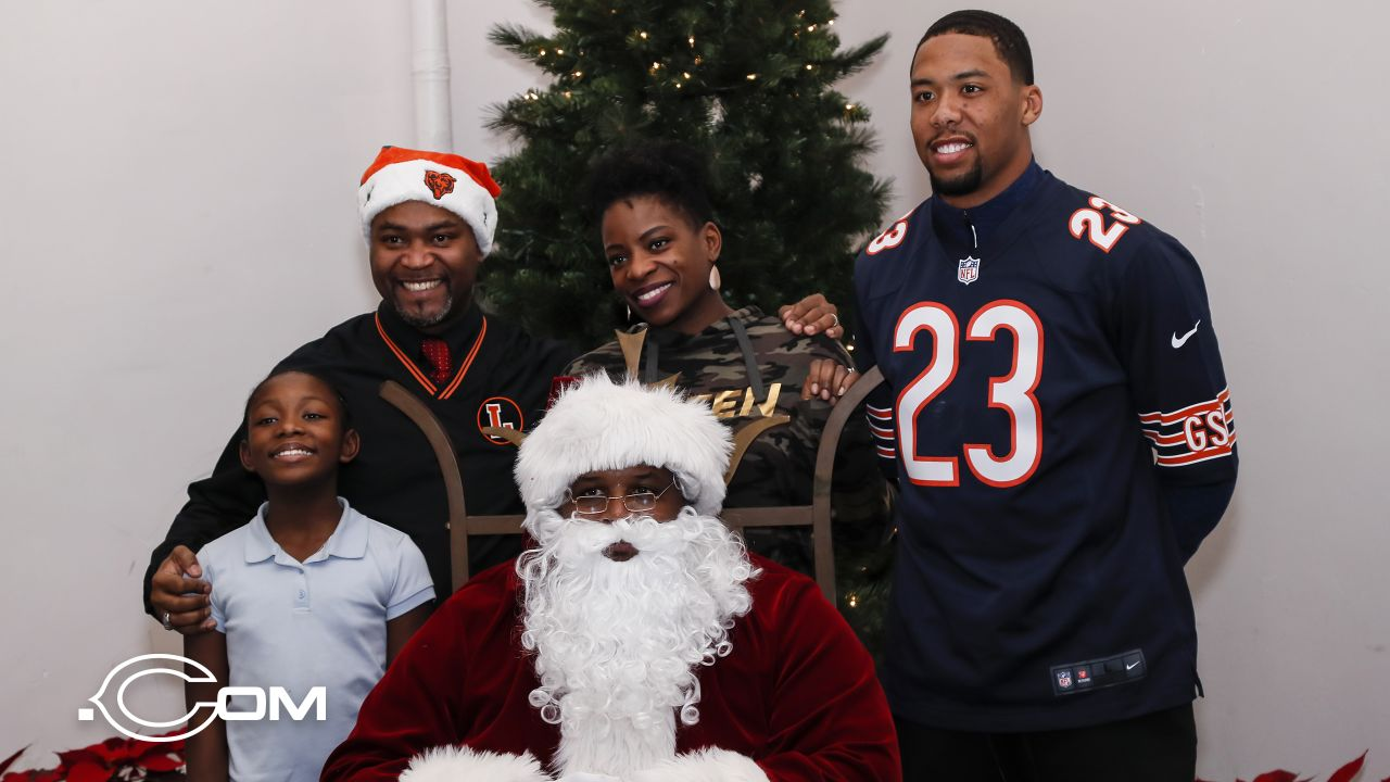 The Chicago Bears host their annual Holiday Giving Initiative, Monday, December 17, 2018, in Chicago, Illinois.