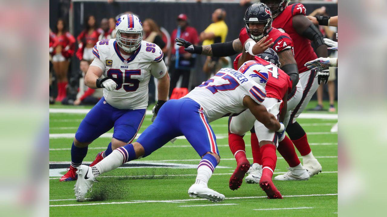 Buffalo Bills at Houston Texans, October 14, 2018 at NRG Stadium.  Photo by Bill Wippert