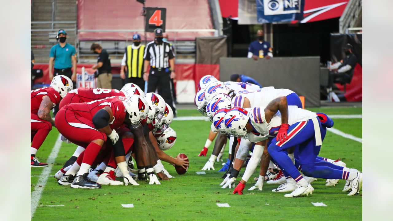 Buffalo Bills vs Arizona Cardinals, November 15, 2020 at State Farm Stadium.