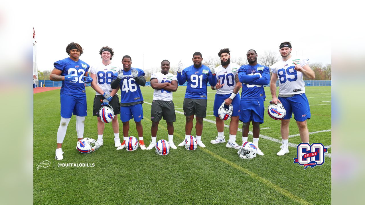 Draft Picks at Buffalo Bills Rookie Camp, May 10, 2019.