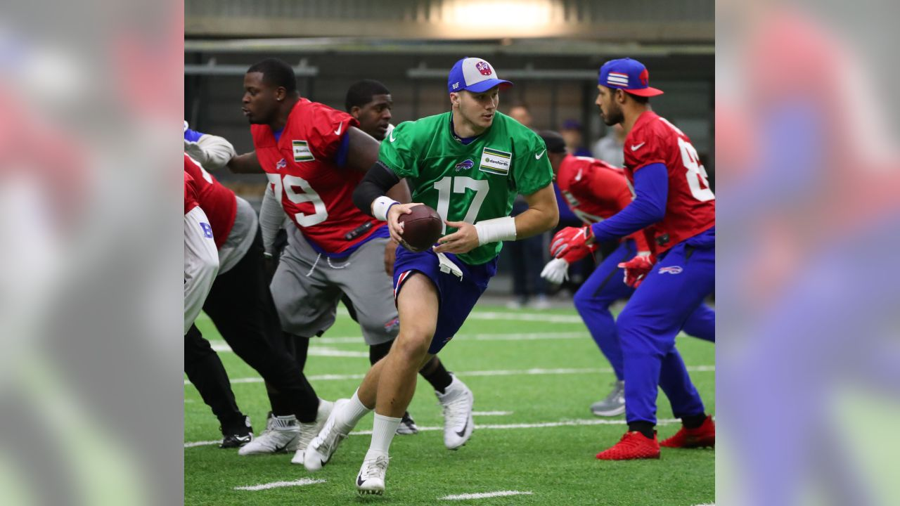 Buffalo Bills prepare for Week 15 at ADPRO Sports Training Center, December 12, 2018.  Photo by Bill Wippert