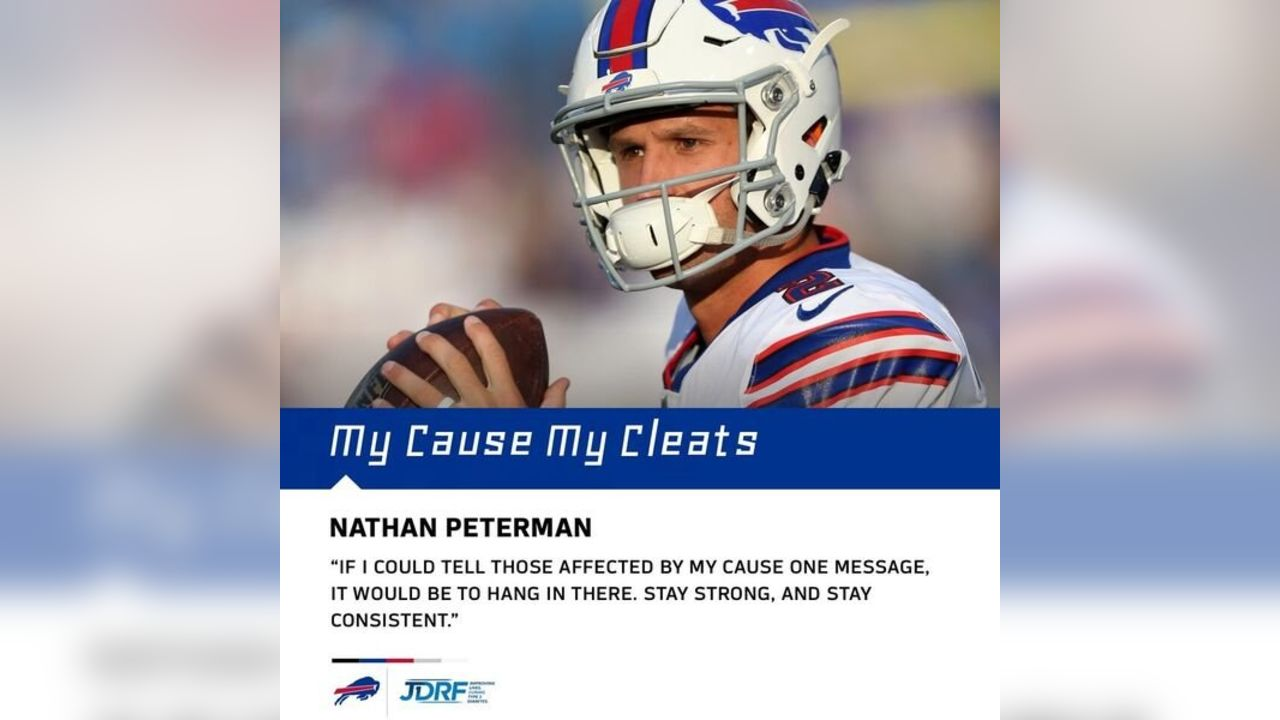 QB Nathan Peterman (2)- Type 1 Diabetes- JDRF- Juvenile Diabetes Research