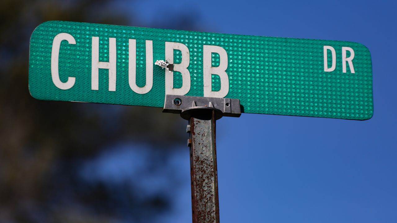 Chubbtown, as seen here on January 31, 2019, was a community of freed black men founded in 1864 by Bradley Chubb's ancestors. Though the community is no longer as bustling as it once was, the road still bears the Chubb family name, as do a few other local landmarks.