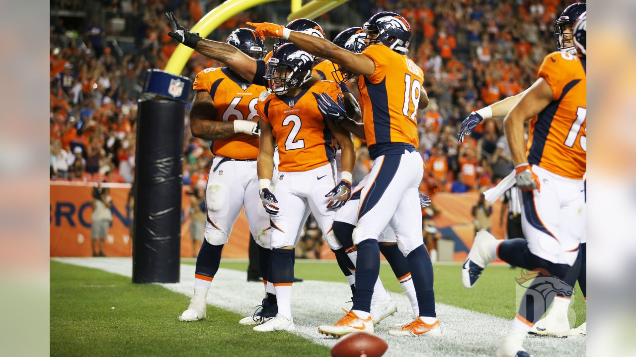 XXXXX during the NFL preseason game against the  Minnesota Vikings at Broncos Stadium at Mile High in Denver, Colorado, August 11, 2018.Photo by Gabriel Christus