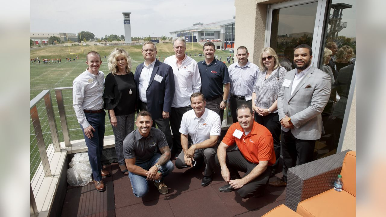 Denver Broncos partner Signing Day at UCHealth Training Center in Centennial, CO, August 21, 2018.Photo by Gabriel Christus