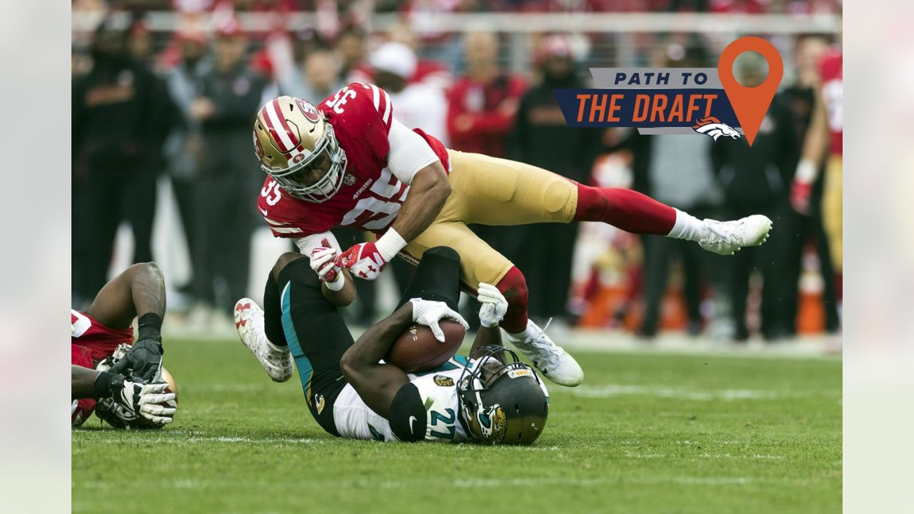 The 49ers' fortunes faded during Reid's five years with the team, but Reid was a reliable presence in the secondary and was one of the team's steadying forces. Solid against the run and adept in coverage, he posted his best season last year since his rookie campaign and should get a hefty contract. (Ric Tapia via AP)