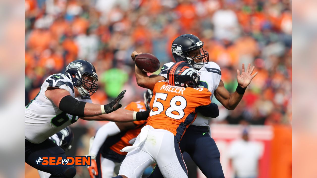 In Week 1 against Seattle, Von Miller recorded seven total tackles, three sacks and two forced fumbles.