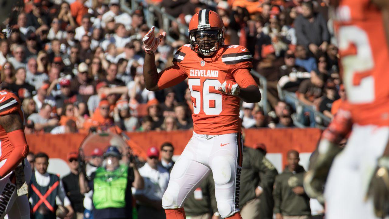 cleveland browns orange jersey