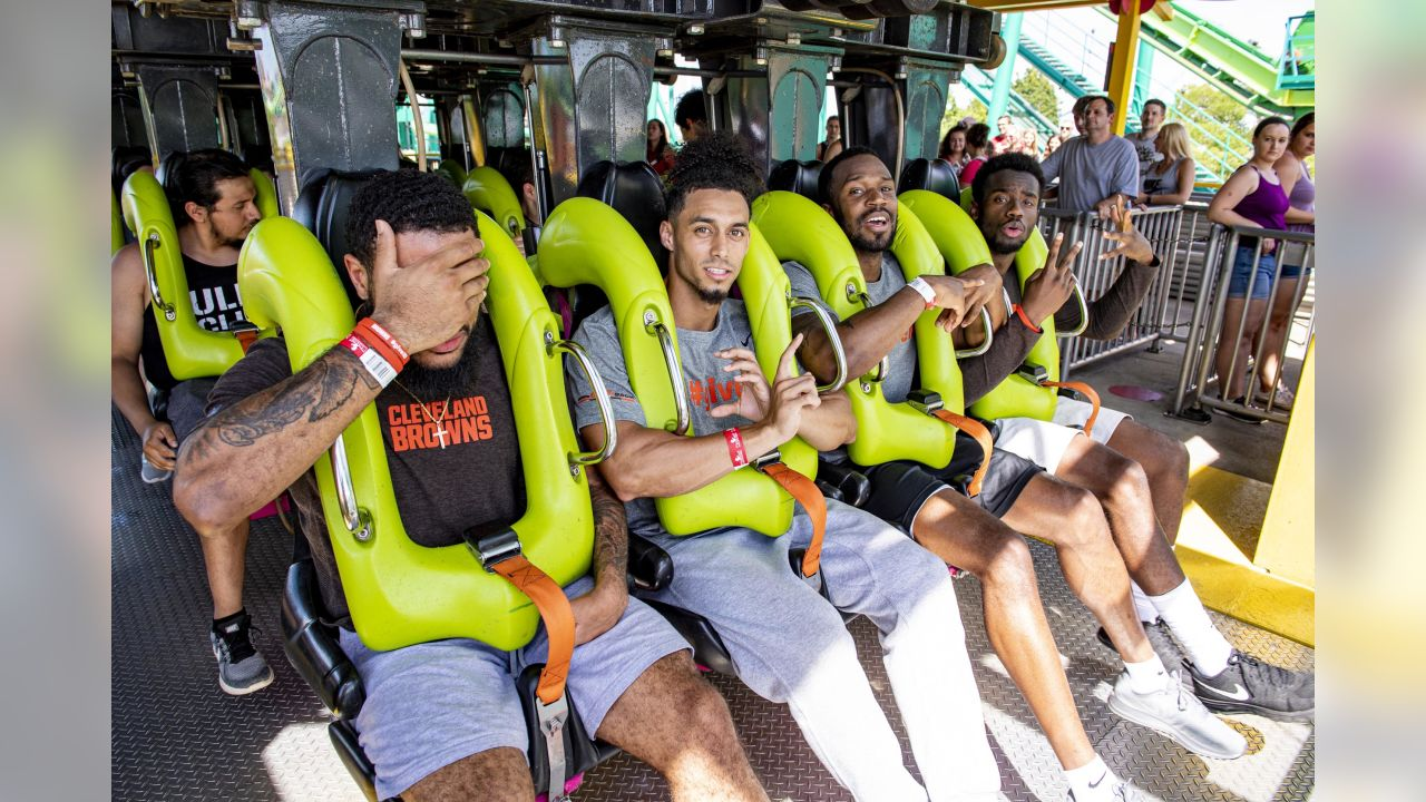 The 2019 rookie class visited Cedar Point on Wednesday