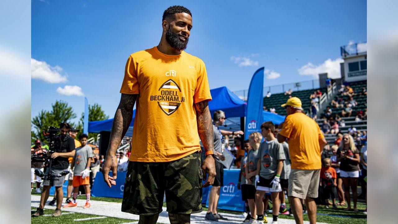 sale retailer 5428a 6180f Photos: Odell Beckham, Jr. Football ProCamp