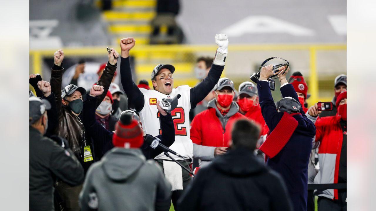 NFC Championship Win Celebration