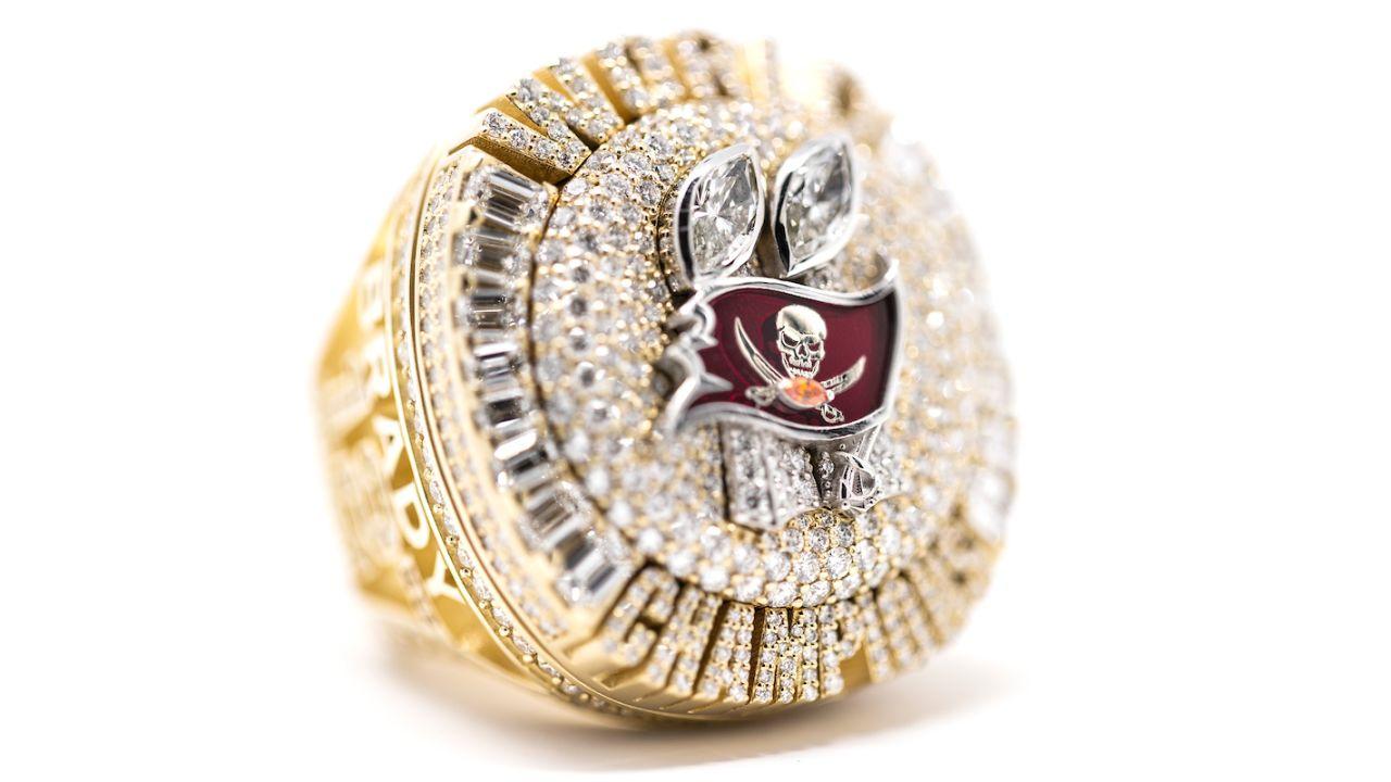 Tampa Bay Buccaneers 2021 Super Bowl Lv Ring One Team One Cause Lavonte David Tom Brady