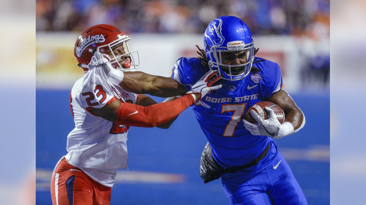 Boise State wide receiver A.J. Richardson