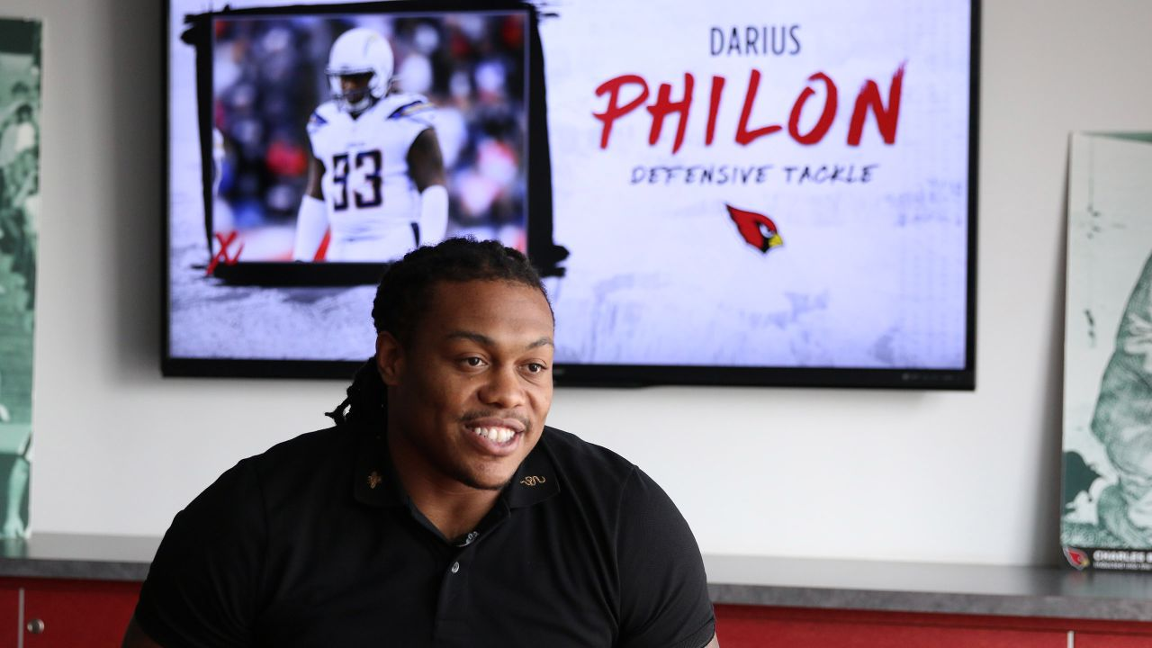 DT Darius Philon does a post-signing interview