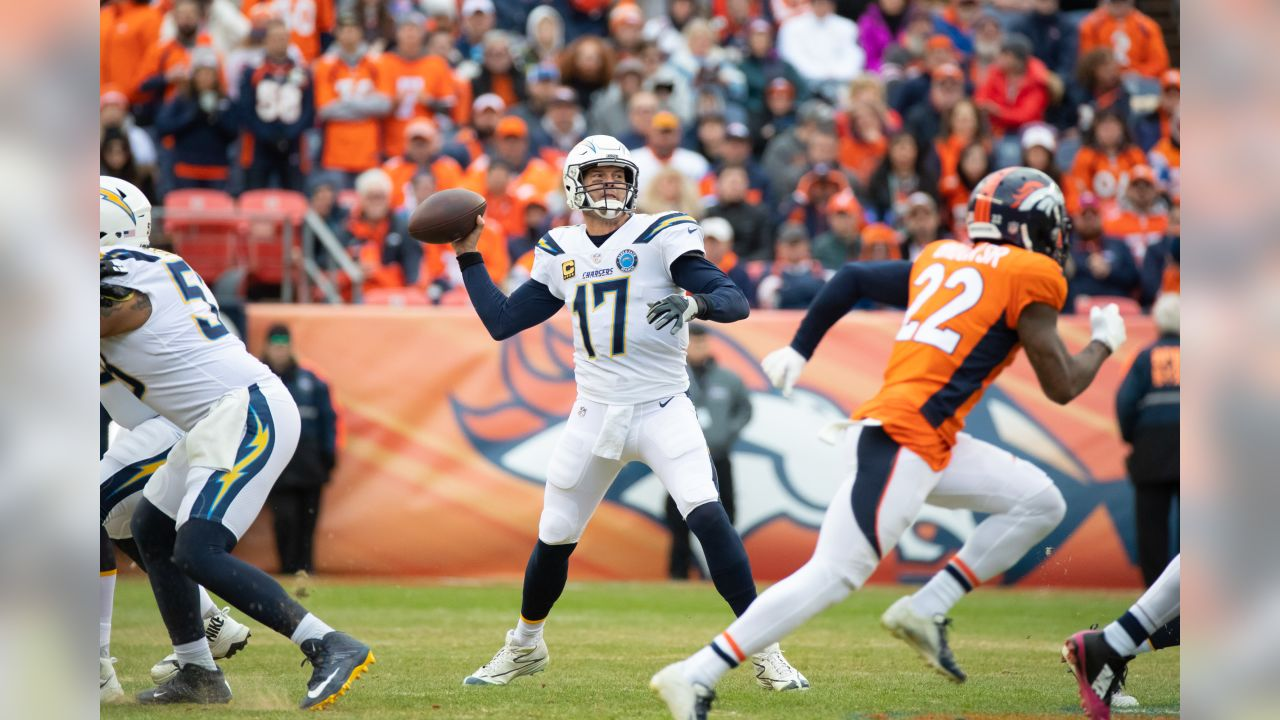 Chargers defeat Broncos 23-9 at Broncos Stadium at Mile High on Sunday, Dec. 30, 2018 in Denver, Colorado.