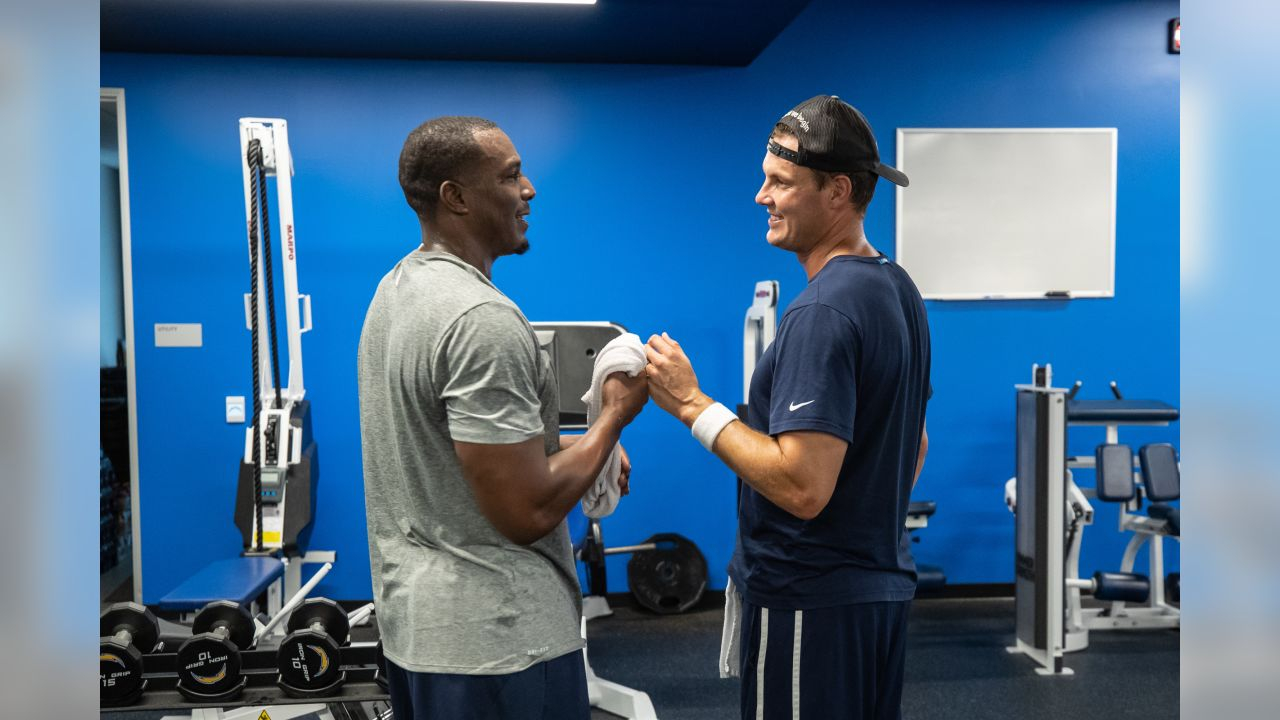 Gates at Hoag Performance Center September 3, 2018 in Costa Mesa, CA. (Chargers/Mike Nowak)  - - @Chargers - - chargers.com - -