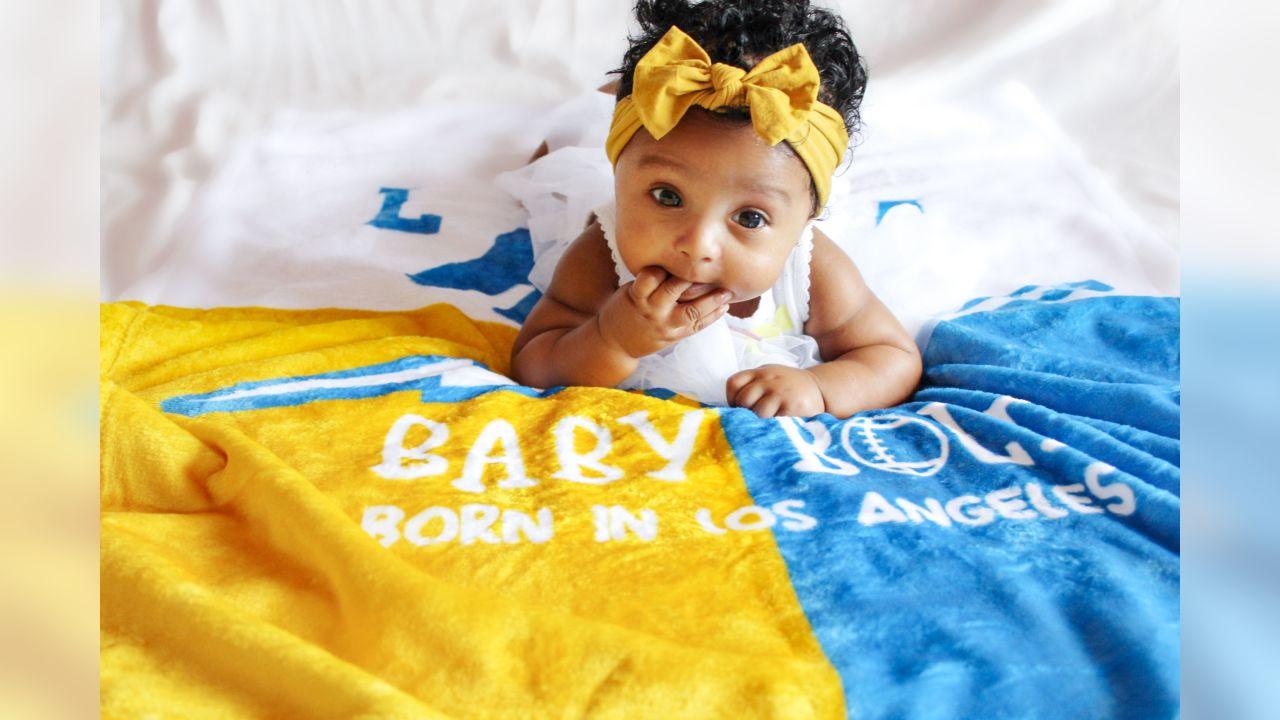 Travis Benjamin's baby girl Semai – 4 months