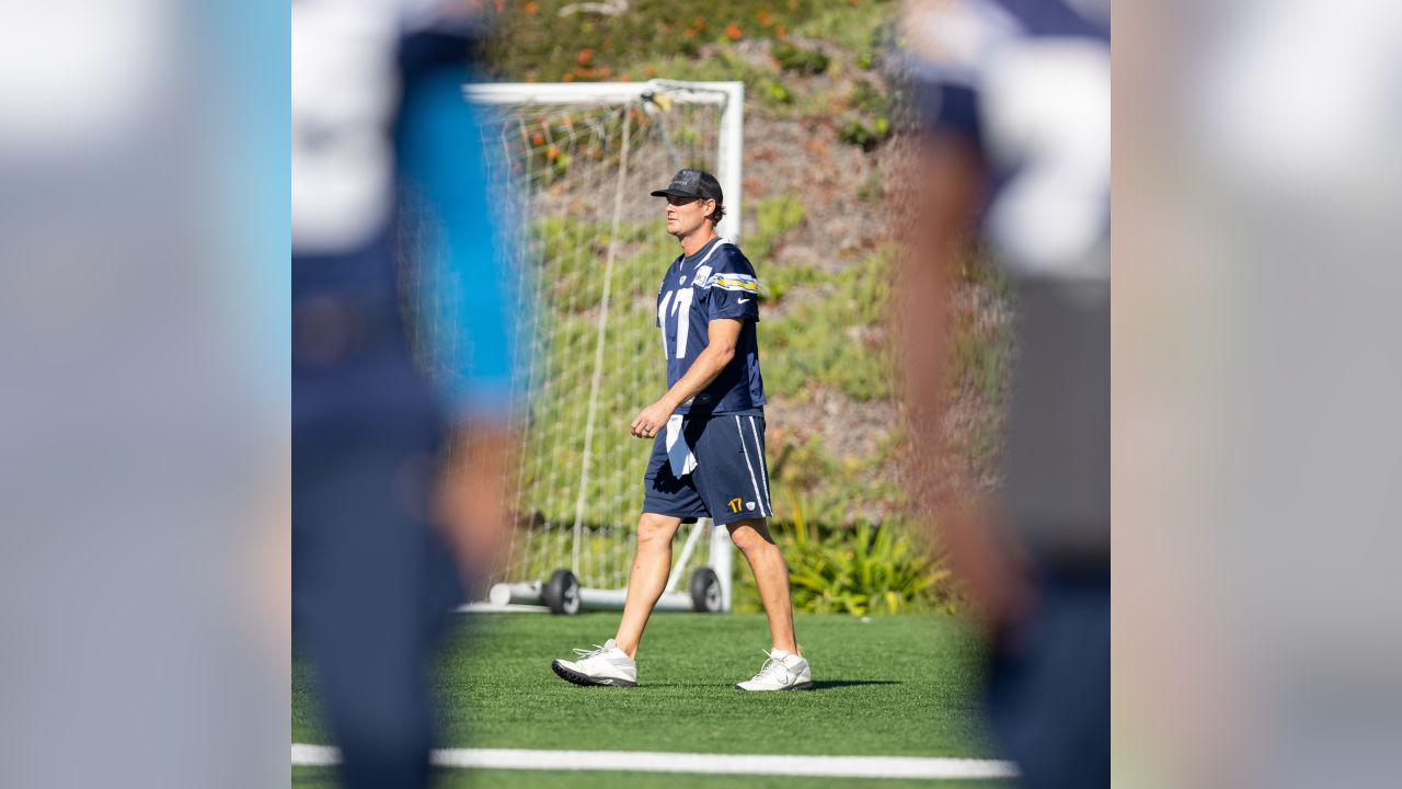 Los Angeles Chargers practice at Orange Coast College on Wednesday, Dec. 7, 2018 in Costa Mesa, CA.