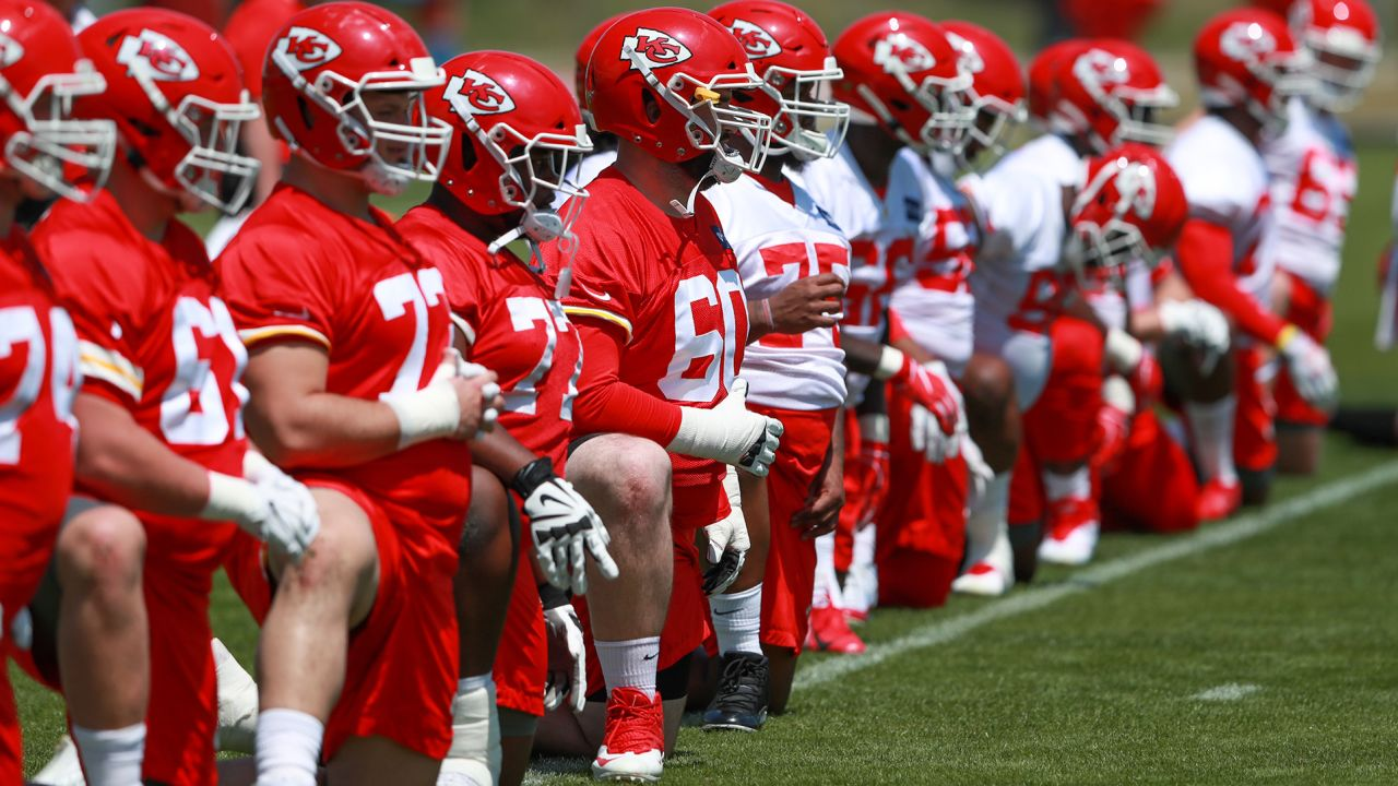 A look into Rookie Mini Camp on Sunday.