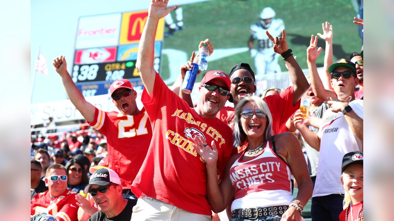 Chiefs at Chargers on September 9, 2018