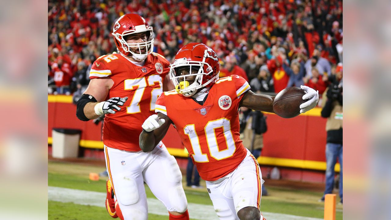 Kansas City Chiefs vs Oakland Raiders at Arrowhead Stadium on December 30, 2018.