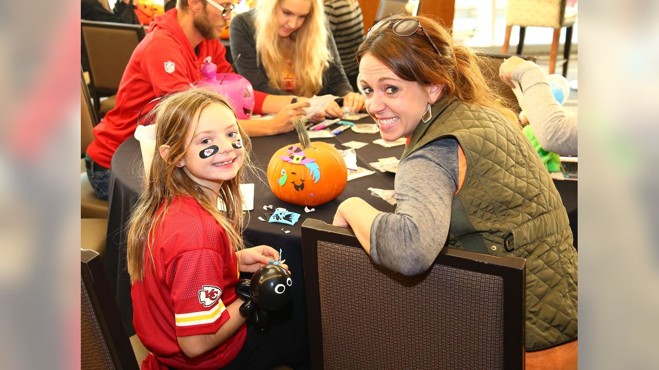 The fourth annual Chiefs Kids Club Halloween Bash was held at Arrowhead Stadium on October 16, 2018.