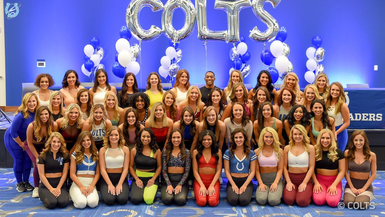 Headshots of the 2019 Colts Cheer Audition finalists.