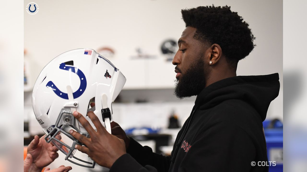 The Colts new rookies arrived Thursday afternoon for the 2019 Rookie Mini-Camp!