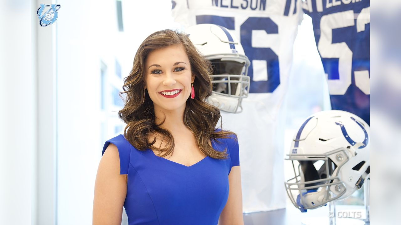 """A fun """"business"""" photo shoot as potential Colts Cheerleaders prepared for the interview portion of the 2019 Cheer Auditions."""