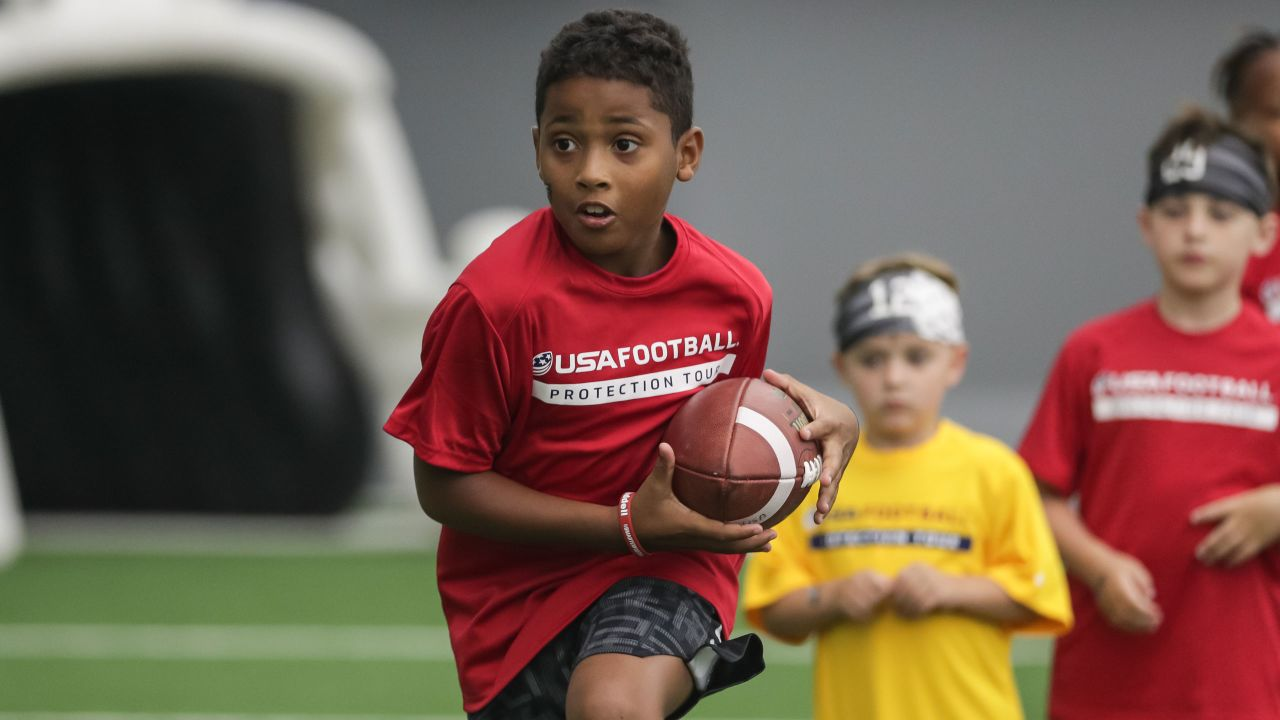 USA Football's Protection Tour is designed to teach the fundamentals of football while encouraging player safety.