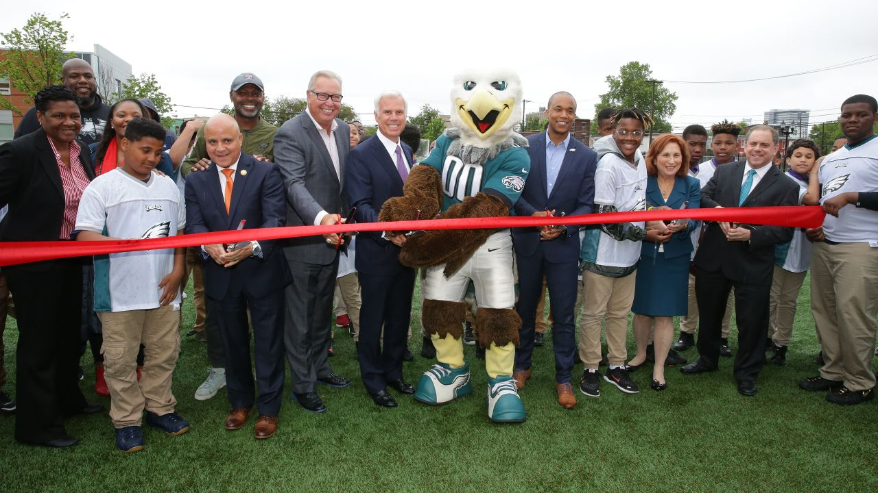 KIPP Cooper Norcross Academy celebrated the opening of a new turf field at its Lanning Square campus in Camden, N.J.