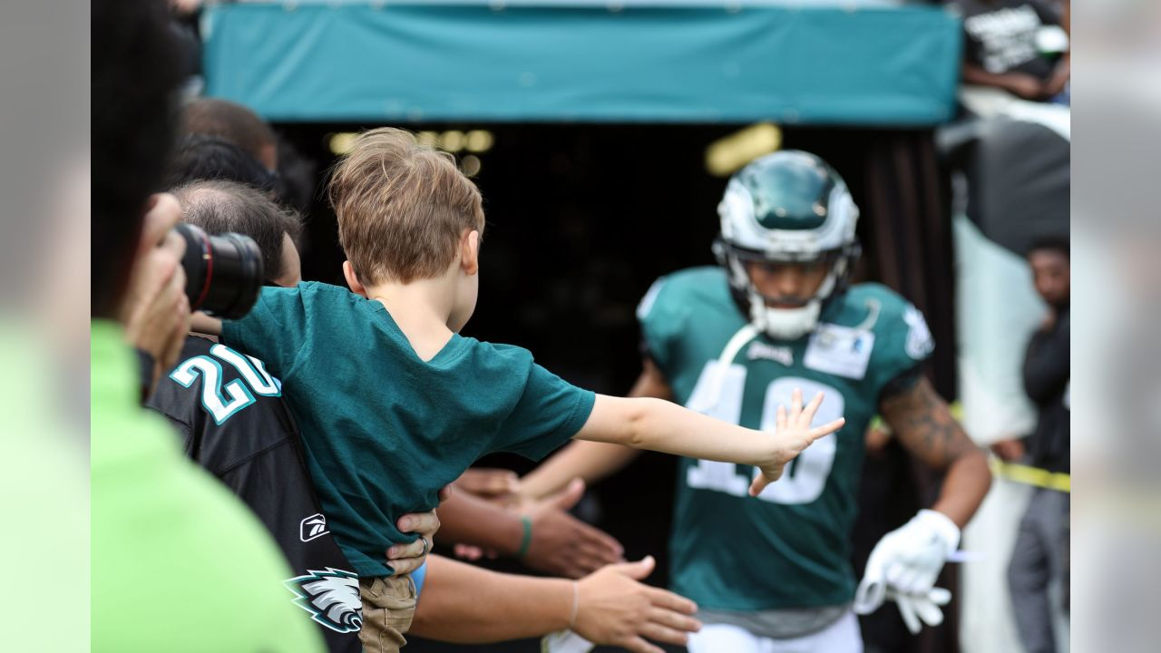 Philadelphia Eagles open practice at Lincoln Financial Field on August 11, 2018