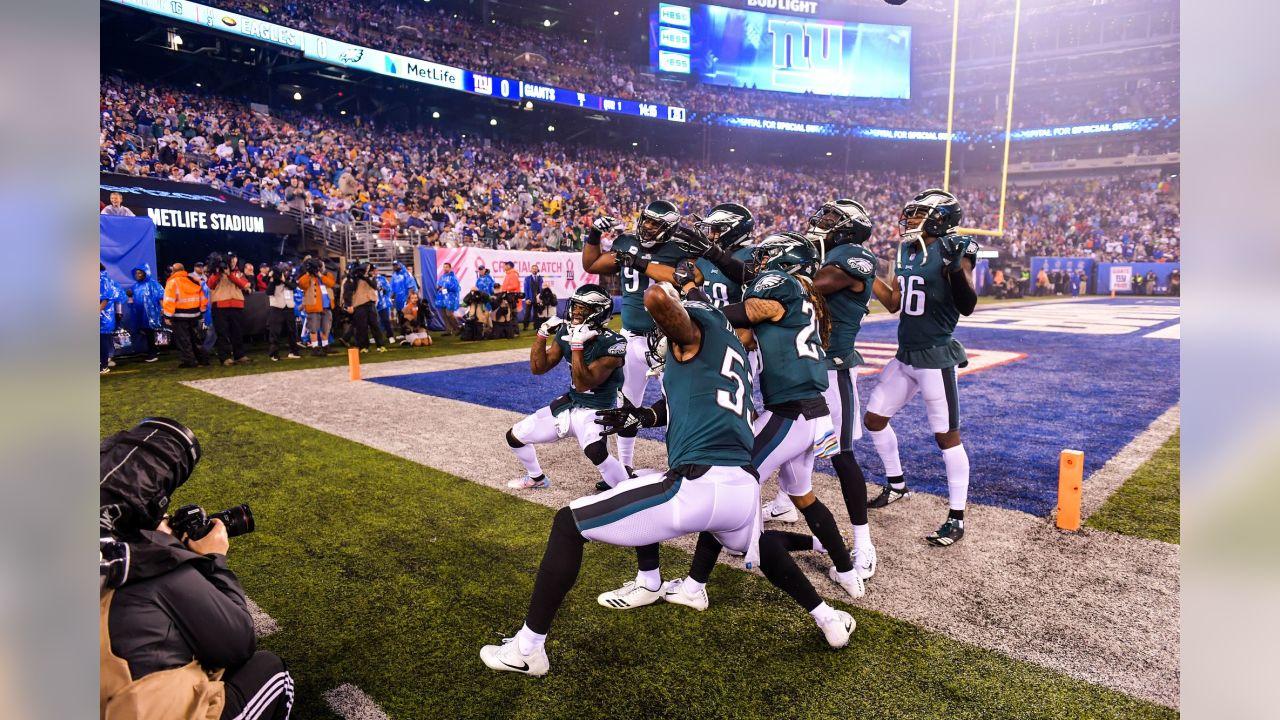 Philadelphia Eagles vs. New York Giants at MetLife Stadium on October 11, 2018.